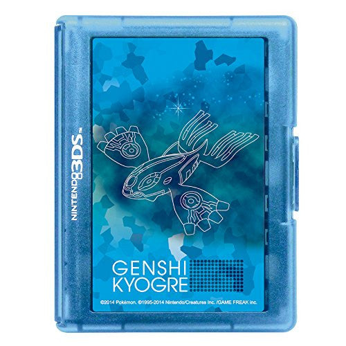 Image 2 for Pokemon Card Case 24 for 3DS (Genshi Kyogre)