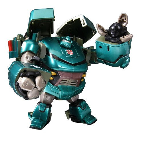 Image 1 for Transformers Animated - Bulkhead - TA03 - Ironhide (Takara Tomy)
