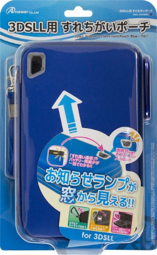 Image 1 for Surechigai Pouch for 3DS LL (Blue)