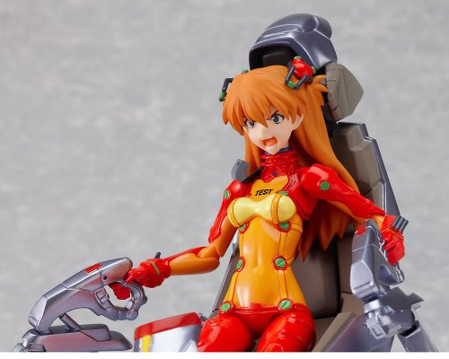 Image 6 for Evangelion Shin Gekijouban - Souryuu Asuka Langley - Figma #084 - Test Plugsuit ver. (Max Factory)