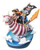 Thumbnail 3 for One Piece - Monkey D. Luffy - Roronoa Zoro - Usopp - Desktop Real McCoy (MegaHouse)