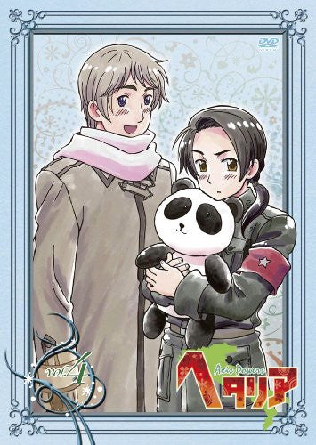 Image 1 for Hetalia Axis Powers Vol.4 [DVD+CD Limited Edition]