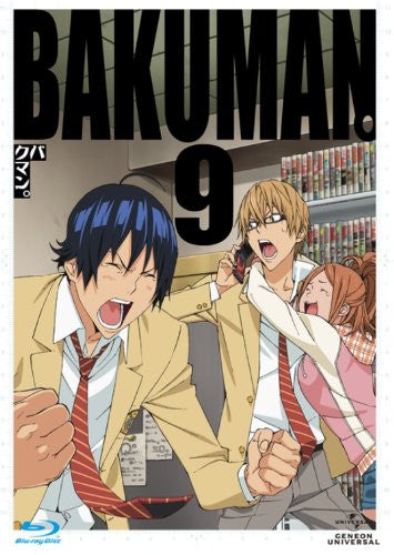 Image 1 for Bakuman 9 [Blu-ray+CD Limited Edition]