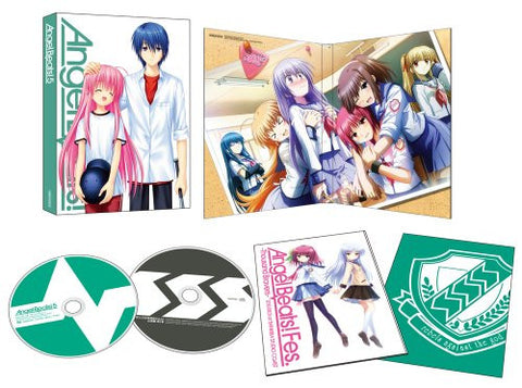 Image for Angel Beats Vol.5 [Blu-ray+CD Limited Edition]