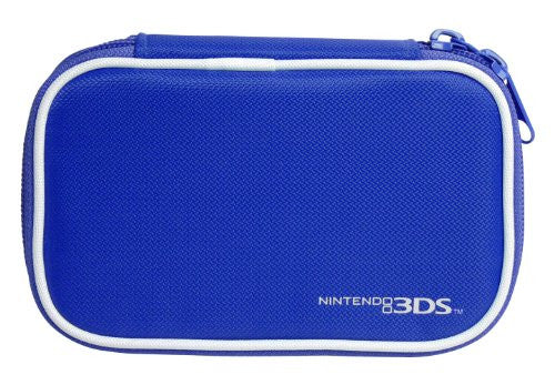Image 3 for Compact Pouch 3DS (Deep Blue)