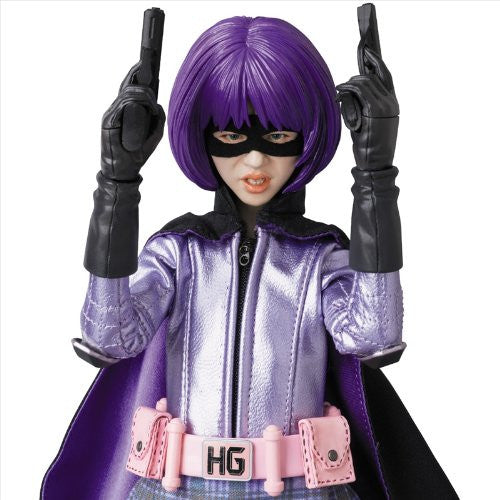 Image 5 for Kick-Ass - Hit-Girl - Real Action Heroes #677 - 1/6 (Medicom Toy)