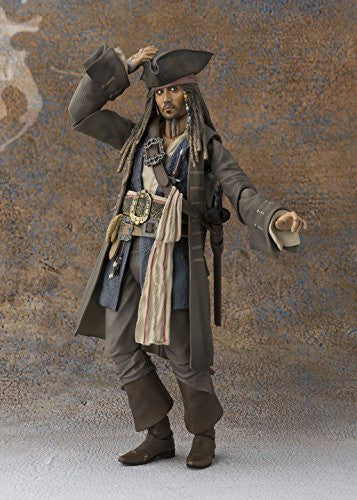 Image 12 for Pirates of the Caribbean: Dead Men Tell No Tales - Jack Sparrow - S.H.Figuarts