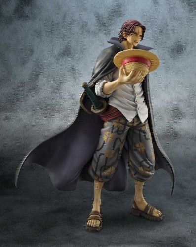 Image 10 for One Piece - Red-Haired Shanks - Excellent Model - Portrait Of Pirates DX - 1/8 - Marineford ver. (MegaHouse)