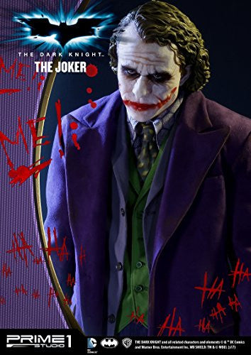Image 10 for The Dark Knight - Joker - High Definition Museum Masterline Series HDMMDC-01 - 1/2 (Prime 1 Studio)