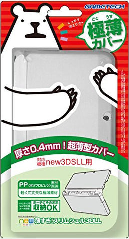 Image for New Slim Crystal Shell 3D LL for New 3DS LL (Clear)
