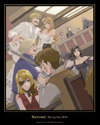 Image 2 for Baccano! Blu-ray Disc Box [Limited Edition]