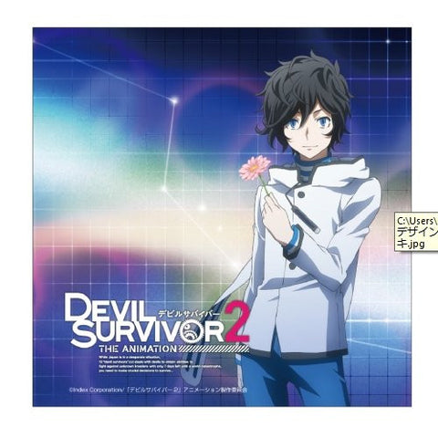 Image for Devil Survivor 2 the Animation - Kuze Hibiki - Mini Towel - Towel (Contents Seed)