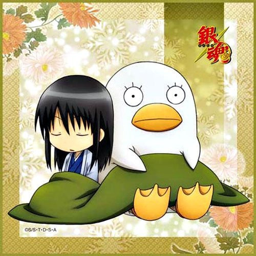 Image 1 for Gintama - Elizabeth - Katsura Kotarou - Towel - Mini Towel - winter ver.2 (Broccoli)