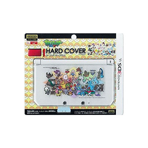 Image 1 for Pokemon Hard Cover for 3DS LL (Pikachu & New Pokemon)
