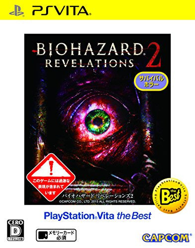 Image 1 for BioHazard: Revelations 2 (PlayStation Vita the Best)