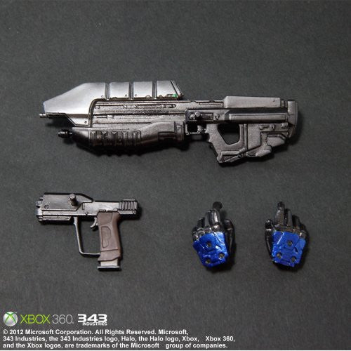 Image 2 for Halo: Combat Evolved - Spartan Mark V - Play Arts Kai - Blue (Microsoft Square Enix)