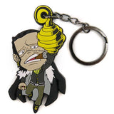 Thumbnail 1 for One Piece - Sir Crocodile - Keyholder - Rubber Strap - Tsumamare (Cospa)