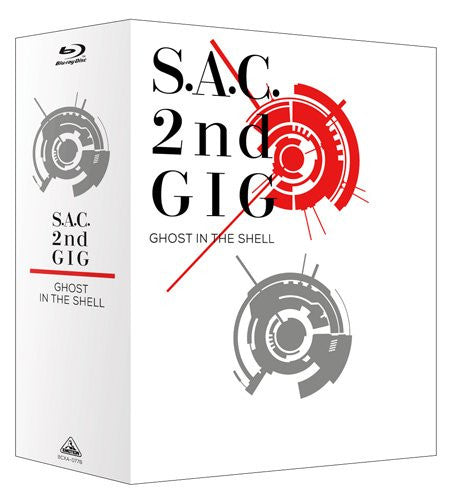 Image 1 for Ghost In The Shell S.a.c. 2nd Gig Blu-ray Disc Box Special Edition [Limited Pressing]