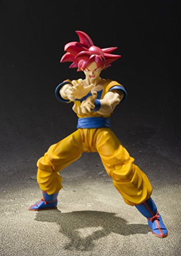 Image 5 for Dragon Ball Z: Kami to Kami - Son Goku SSJ God - S.H.Figuarts (Bandai)