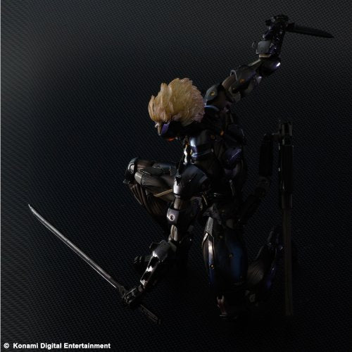 Image 2 for Metal Gear Rising: Revengeance - Raiden - Play Arts Kai - Black Armour ver. (Square Enix)