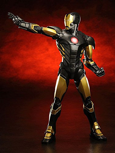 Image 4 for The Avengers - Iron Man - ARTFX+ - Marvel The Avengers ARTFX+ - 1/10 - Black  x Gold (Kotobukiya)