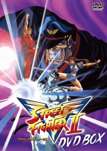 Image 1 for Street Fighter II V DVD Box