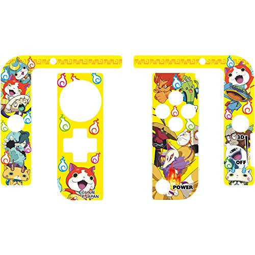 Image 2 for Youkai Watch Protect Seal for 3DS LL (Yellow)