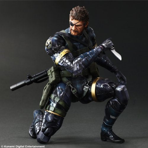 Image 5 for Metal Gear Solid V: Ground Zeroes - Naked Snake - Play Arts Kai (Square Enix)