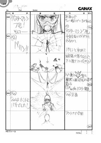 Image 4 for Diebuster Aim For The Top 2 Storyboard Collection Book