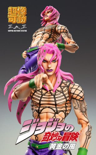 Image 5 for Jojo no Kimyou na Bouken - Ougon no Kaze - Diavolo - Super Action Statue (Medicos Entertainment)