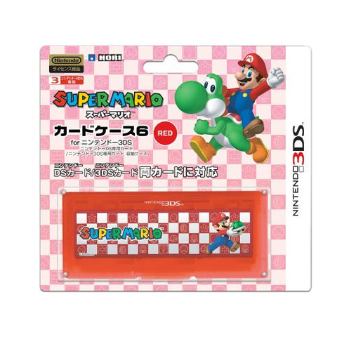 Image for Super Mario Card Case 6 (Red)