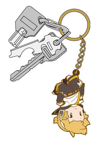 Image 3 for Vocaloid - Kagamine Len - Tsumamare - Rubber Keychain - Keyholder (Cospa)