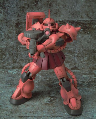 Image 4 for Kidou Senshi Gundam - MS-06S Zaku II Commander Type Char Aznable Custom - Extended Mobile Suit in Action!! (Bandai)