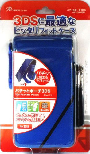 Image 1 for Pachitto Pouch 3DS (Blue)