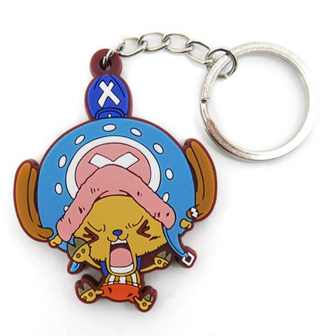 Image for One Piece - Tony Tony Chopper - Keyholder - Rubber Strap - Tsumamare - Struggling Version (Cospa)