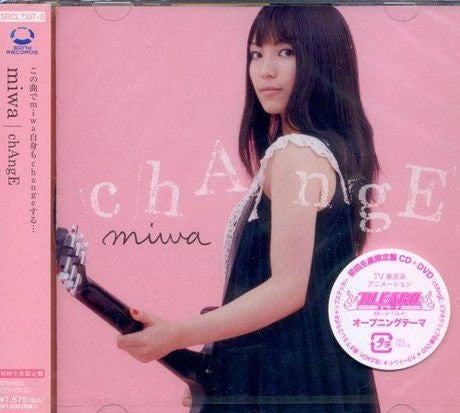 Image 1 for chAngE / miwa [Limited Edition]