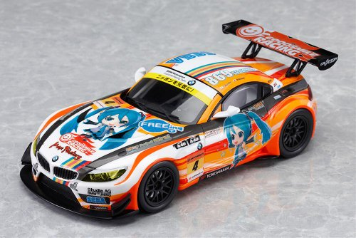 Image 2 for GOOD SMILE Racing - Project Mirai - Vocaloid - Hatsune Miku - Itasha - Project Mirai BMW 2012 - 1/32 - Season Opening ver. (Good Smile Company)