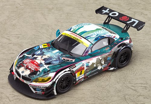Image 2 for GOOD SMILE Racing - Vocaloid - Hatsune Miku - Itasha - 2014 Hatsune Miku GOOD SMILE Racing BMW Z4 GT3 - 1/32 - BMW Z4 GT3 - 2014 Season Opening Version (Good Smile Company)