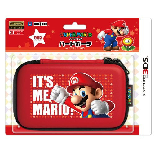 Image 1 for Super Mario Hard Pouch 3DS (Red) [Mario Up Version]