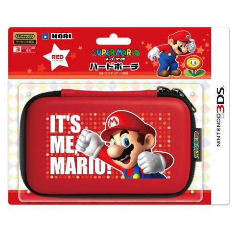 Image for Super Mario Hard Pouch 3DS (Red) [Mario Up Version]