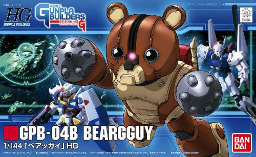 Image 2 for Model Suit Gunpla Senshi Gunpla Builders Beginning G - GPB-04B Beargguy - HGGB 04 - 1/144 (Bandai)