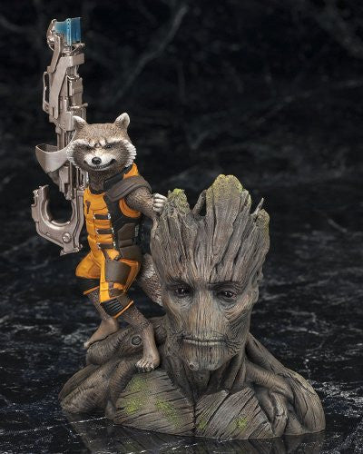 Image 2 for Guardians of the Galaxy - Groot - Rocket Raccoon - ARTFX+ - Guardians of the Galaxy ARTFX+ - 1/10 (Kotobukiya)