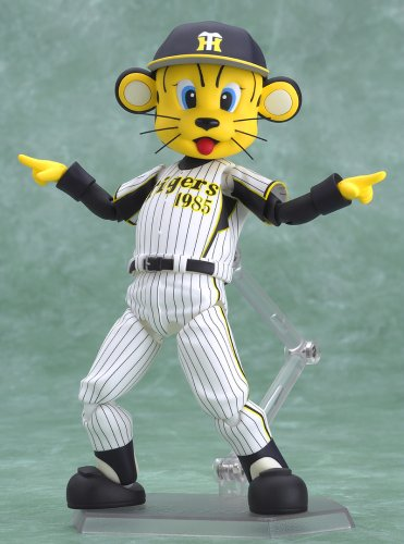 Image 2 for Hanshin Tigers - Tolucky - Figma #021 - Homerun Ver. (Max Factory)