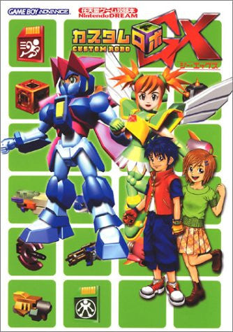Image 1 for Custom Robo Gx Nintendo Official Strategy Guide Book / Gba