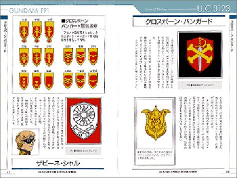 Image 4 for Gundam Emblem Collection Encyclopedia Book