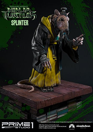 Image 5 for Teenage Mutant Ninja Turtles (2014) - Splinter - Museum Masterline Series MMTMNT-05 - 1/4 (Prime 1 Studio)