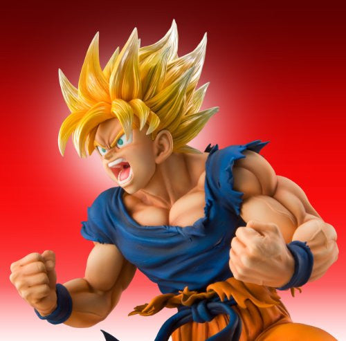 Image 6 for Dragon Ball Kai - Son Goku SSJ - Super Figure Art Collection - 1/8 (Medicos Entertainment)