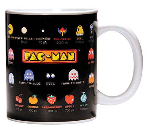 Image 1 for Pac-Man - Kimagure - Machibuse - Oikake - Otoboke - Mug - Heat Change Mug (Paladone)