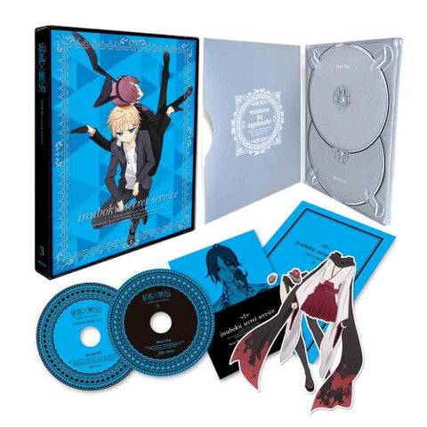 Image for Inu x Boku Ss 3 [DVD+CD Limited Edition]