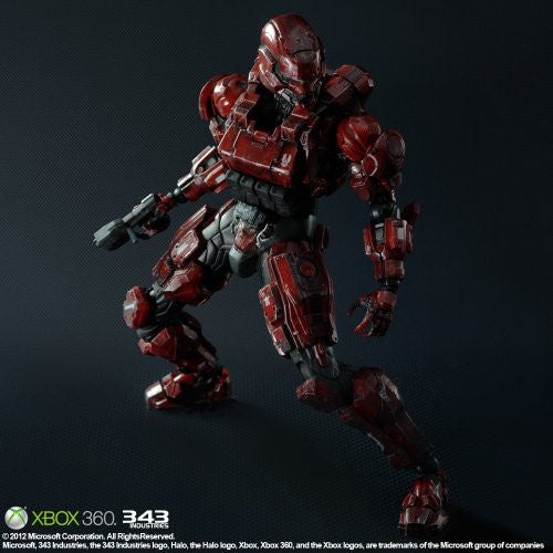 Image 2 for Halo 4 - Spartan Solider - Play Arts Kai - Red (Square Enix)
